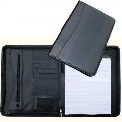Cathedral A4 Portfolio Conference Folder Personal Organiser Black - CONFPUBK