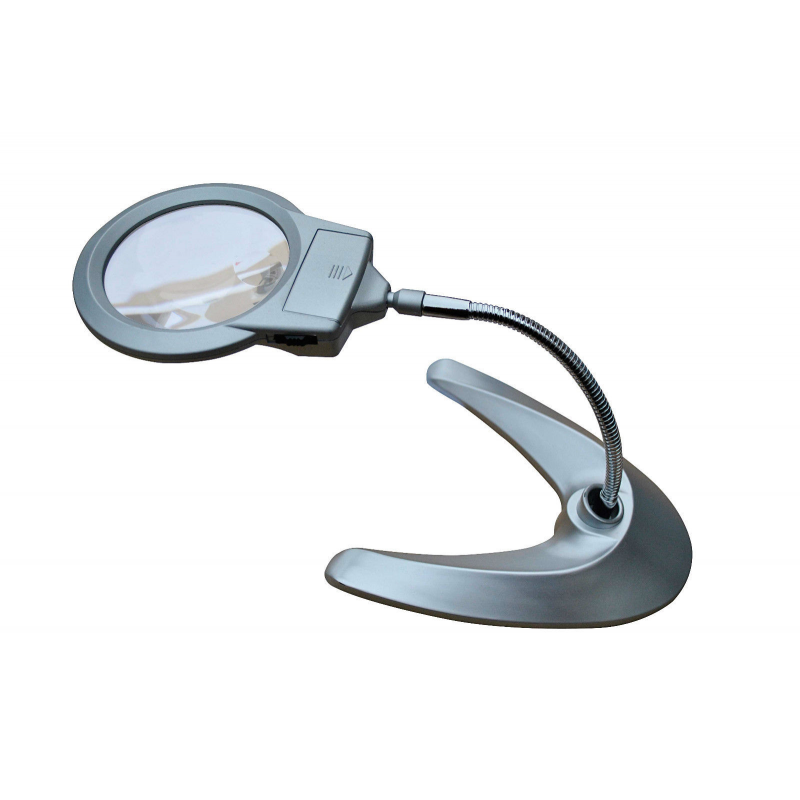 Desk Table Floor Magnifying Lamp Illuminating Magnifier