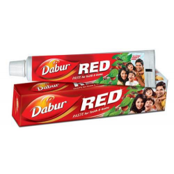 Dabur Red Toothpaste for Dental Tooth Decay Gums Care with Clove Oil 100g 200g