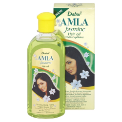 Dabur Amla Jasmin or Chameli Hair Oil for Long Strong Shiny Smooth Hair 200ml