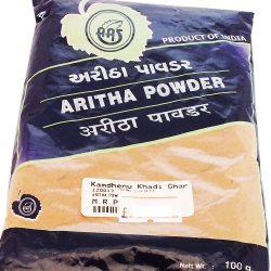 Natural Herbal Hair Growth & Skin Care Anti Dandruff Aritha (Sapindus Trifolatus) / Soapnut / Reetha Organic Powder