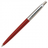 Parker Jotter Standard Ballpoint Ball Pen Stainless Steel Red (Blister Pack)