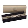 Parker Gold Clip (GT) Stainless Steel Silver Jotter Ballpoint Ball Pen (Blister Pack S0881891)