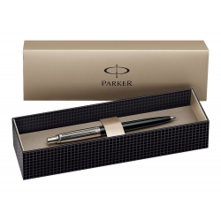 Parker Jotter Ballpoint Ball Pen Stainless Steel Black with Gift Box