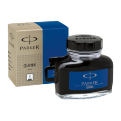 Parker Quink Ink Bottle 57ml Permanent Blue S0037470
