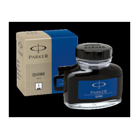 Parker Quink Ink Bottle 57ml Permanent Blue S0037470