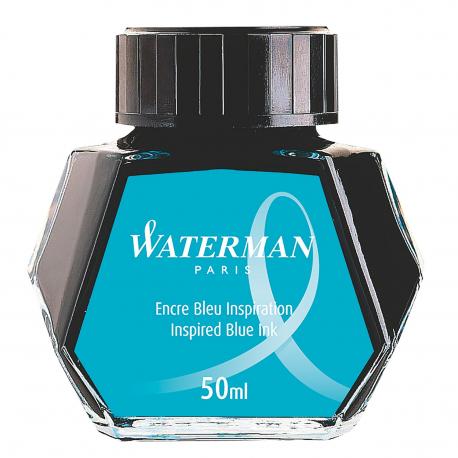 Waterman Fountain Pen Ink Bottle / Pot South Sea Inspired Blue S0110810