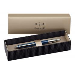 Parker Vector Standard Blue Ballpoint Ball Pen Stainless Steel with Gift Box