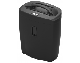 Heavy Duty Cross Cut Paper Shredder 10 Sheet Debit / Credi Card 21L