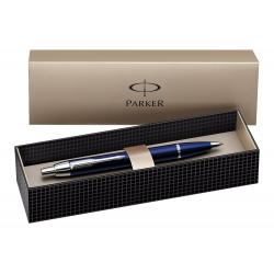 Parker IM Chrome Trim Retractable Ballpoint Pen with Medium Nib S0856460