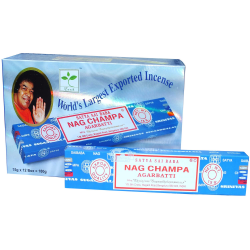 Satya Nag Champa Incense Sticks 15g Pack of 12