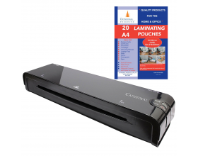 Cathedral A4 Laminator Laminating Machine + 25 Pouches