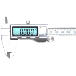 "6"" Digital Vernier Caliper 150mm - Precision Micrometer Stainless Steel"