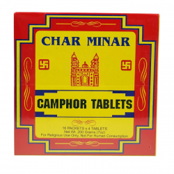 Pure Camphor Tablets Blocks Kapur Dhoop 64 Cubes