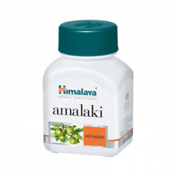Himalaya Herbal Amalaki / Indian Gooseberry / Amla Natural Vitamin C Capsules